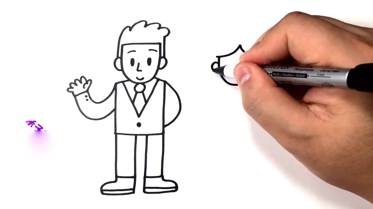1280x720 How To Draw Dad, Mom Easy Drawing Ideas For Kids Online Courses