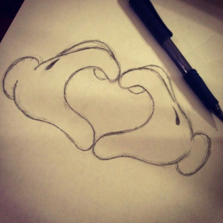 Easy Drawing Love At Getdrawings Com Free For Personal Use Easy