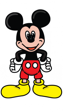 215x382 How To Draw Mickey Mouse, Cartoons, Easy Step By Step Drawing Tutorial