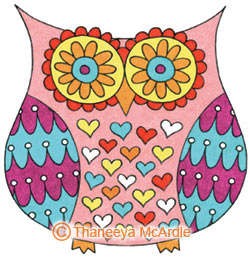 250x258 How To Draw An Owl Learn To Draw A Cute Colorful Owl In This Easy