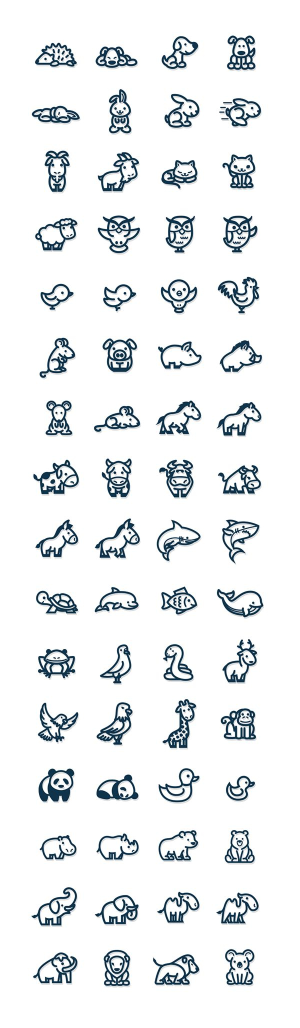 Easy Drawing Of Animals At Getdrawings Com Free For Personal Use