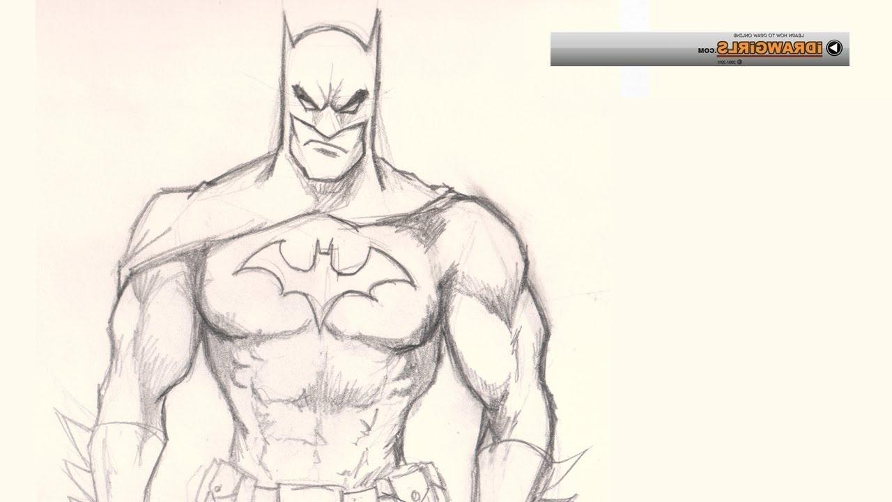 1280x720 Batman Drawings In Pencil Easy