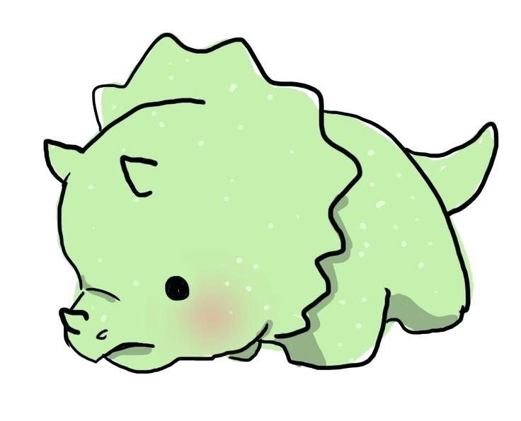 736x595 Easy To Draw Dinosaur Cute Dinosaur Easy Draw Cartoon Dinosaur Affan
