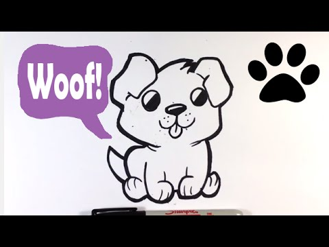 Easy Drawing Of Dogs At Getdrawings Com Free For Personal Use Easy