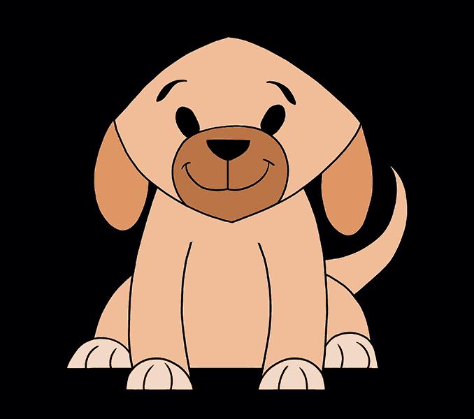 678x600 Gallery Draw Simple Dog,