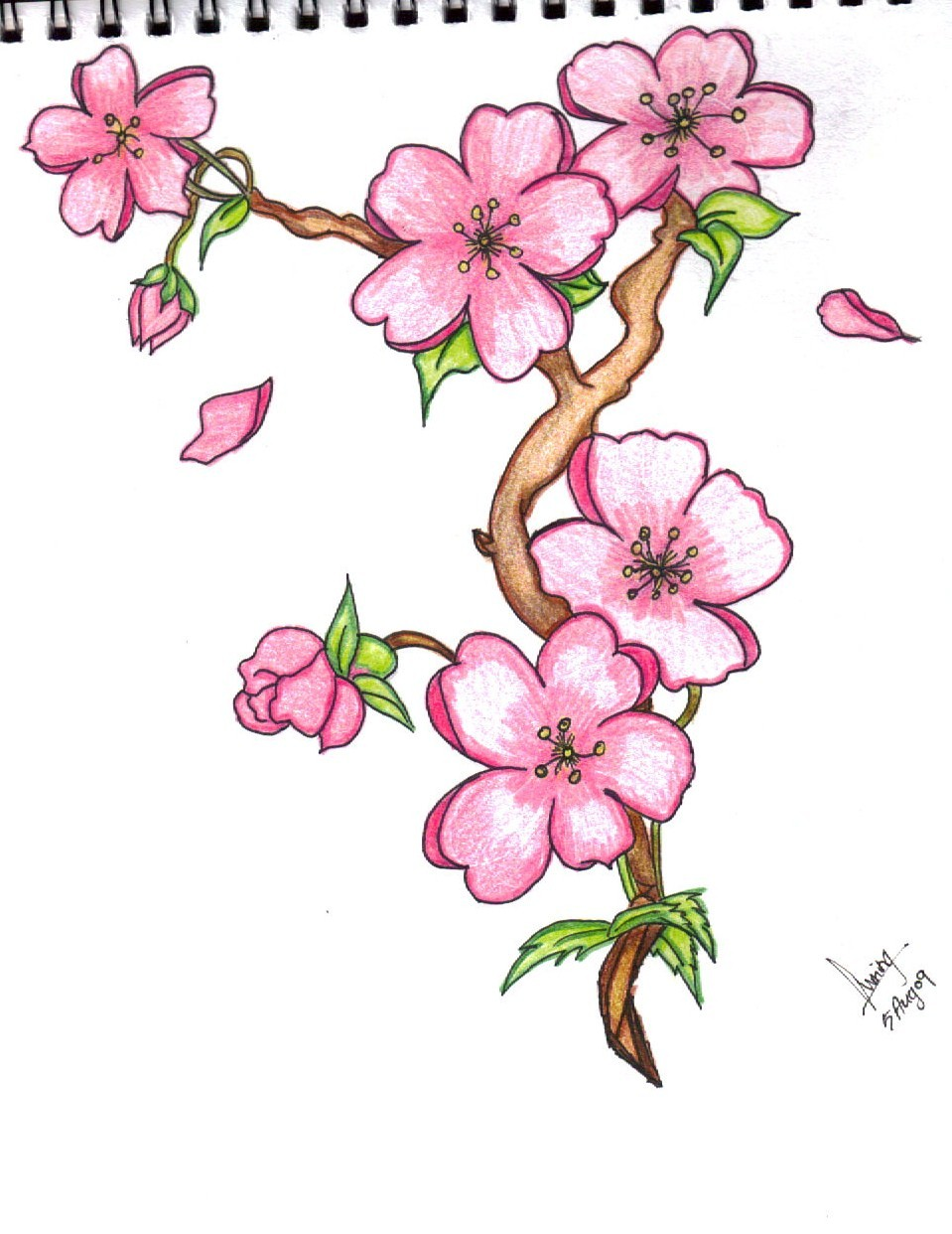 Easy Drawing Pictures Of Flowers At Getdrawings Free For