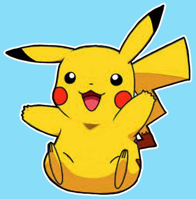 400x406 How Draw Pikachu From Pokemon With Easy Steps Tutorial How