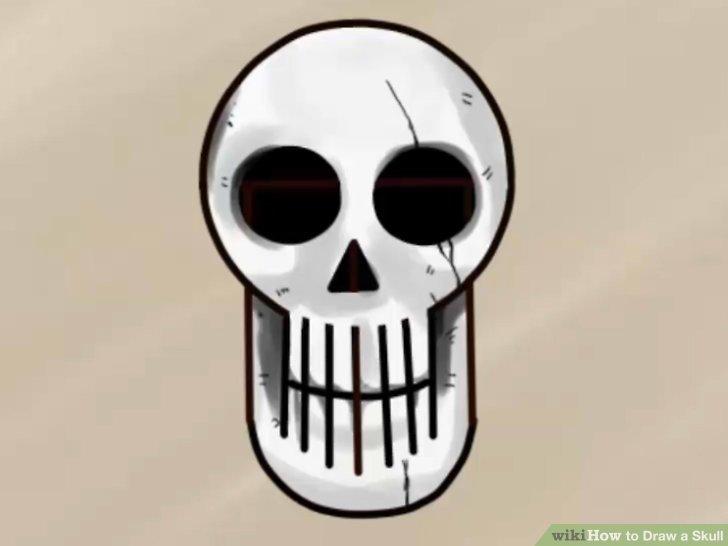 728x546 3 Ways To Draw A Skull