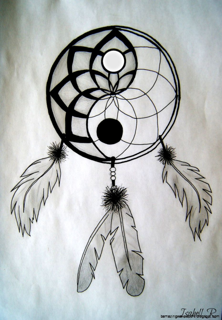 Easy Dreamcatcher Drawing At Getdrawings Com Free For Personal Use
