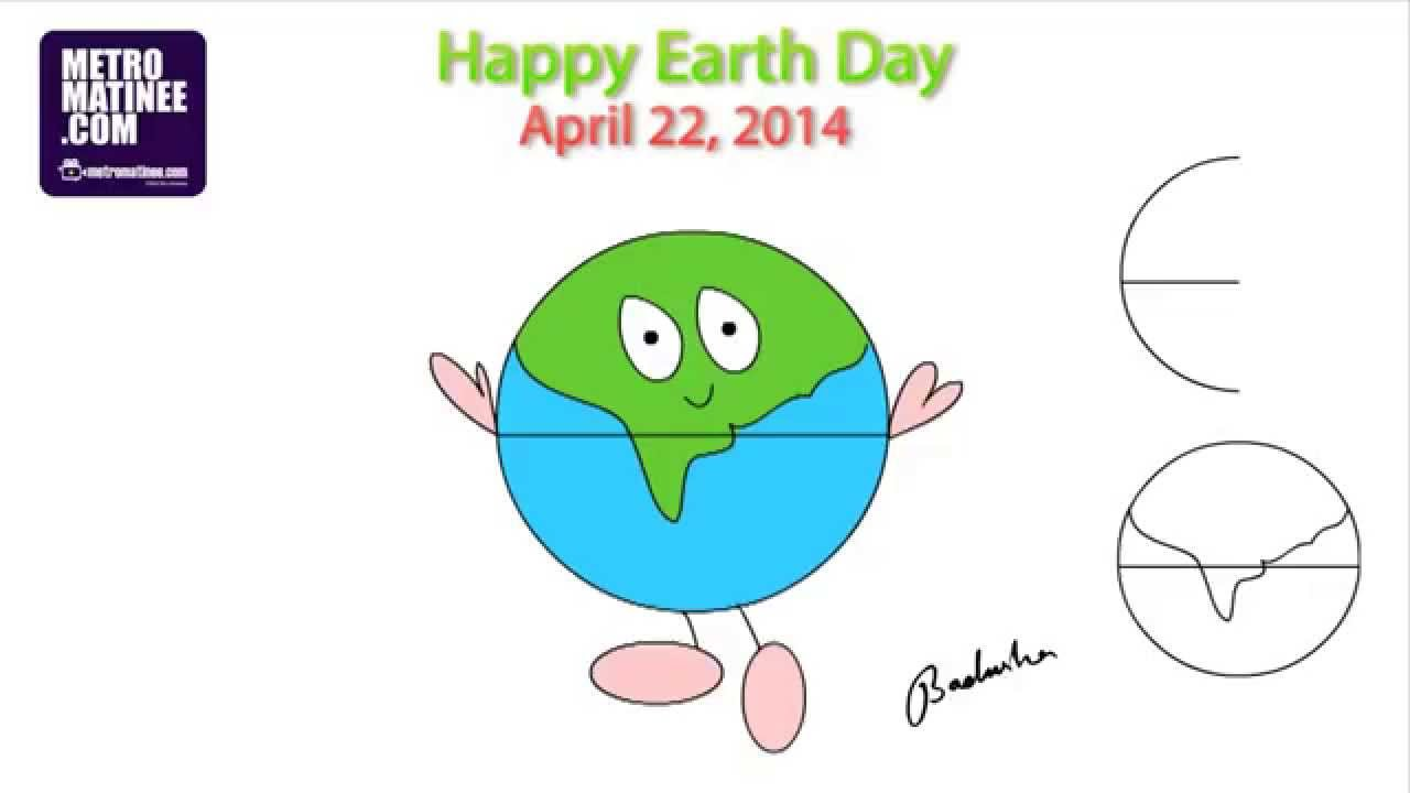 Easy Earth Drawing at GetDrawings.com | Free for personal use Easy ...