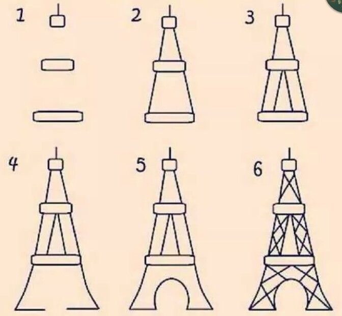 Easy eiffel tower drawing at getdrawings free for personal use 672x622 339 images about art dibujo on we heart it see more about thecheapjerseys Gallery