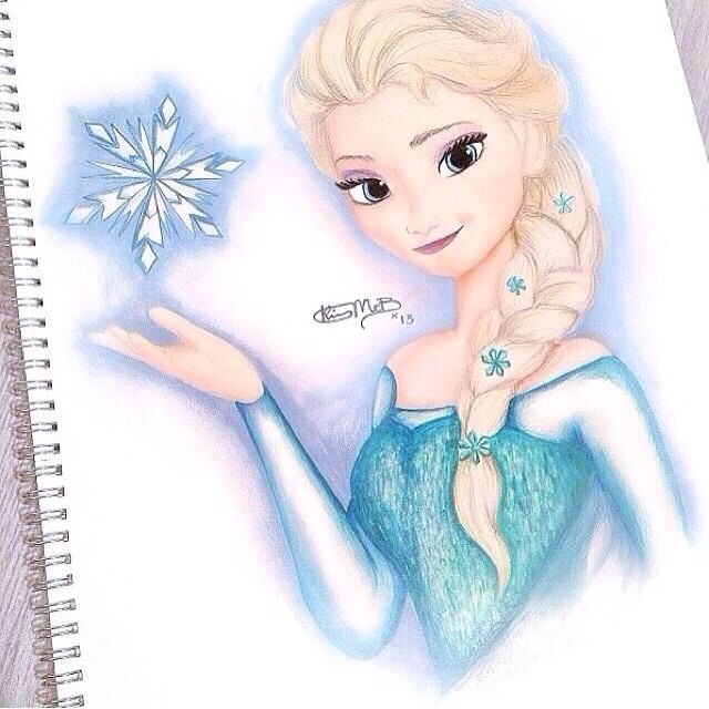640x640 frozen easy drawings images