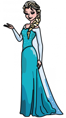 215x382 How To Draw Elsa From Frozen, Disneys Cartoons, Easy Step By Step