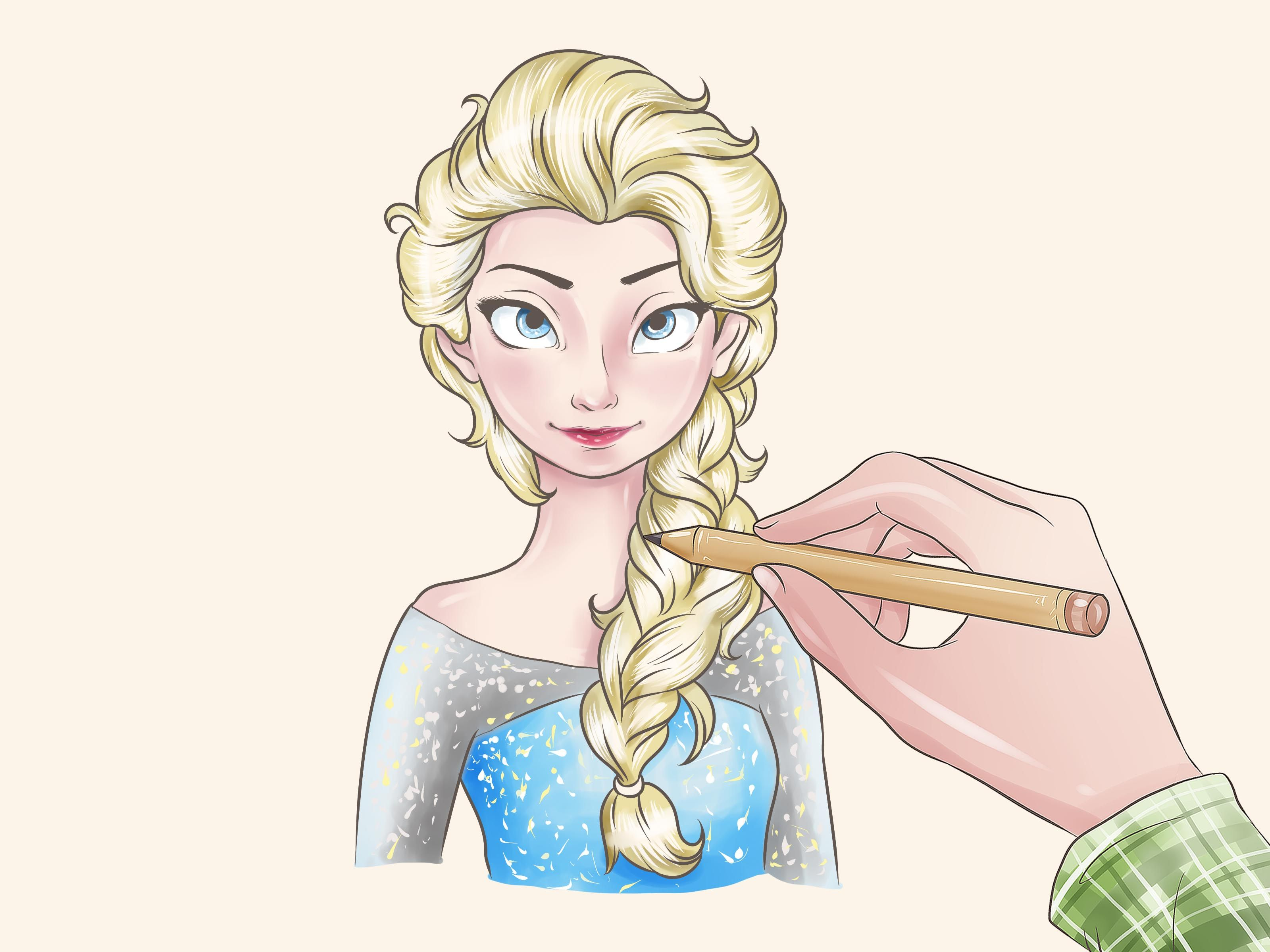 3200x2400 How To Draw Elsa From Frozen