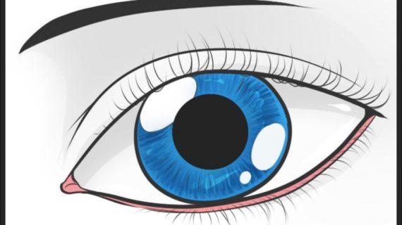 570x320 Easy Eye Drawing How To Draw An Easy Eye Step Step Eyes People