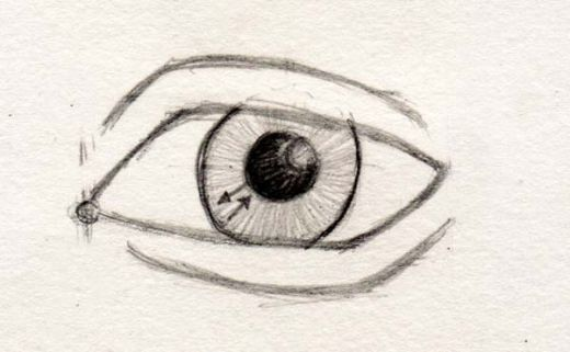 520x321 gallery cool easy eye drawing