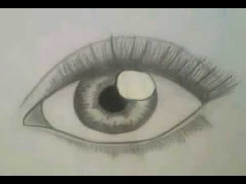 480x360 How To Draw Realistic Eye For Beginners (Easy, Step By Step