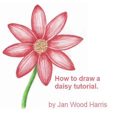 Easy Flower Drawing Tutorials At Getdrawings Free For Personal