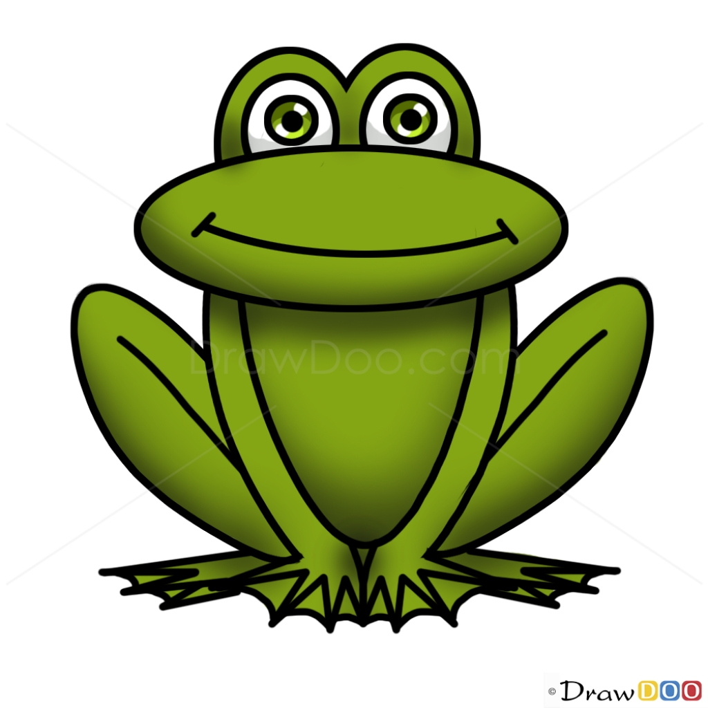 Easy Frog Drawing For Kids at GetDrawings.com | Free for personal ...