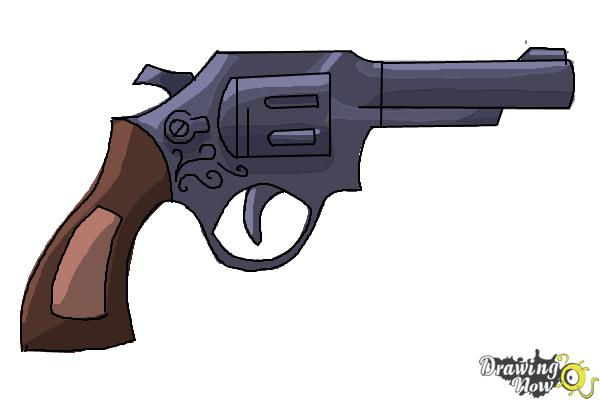 600x400 How To Draw A Simple Gun