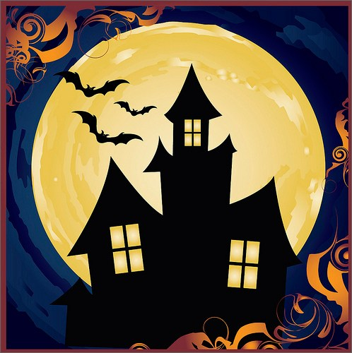 Easy Haunted House Drawing at GetDrawings.com   Free for ...