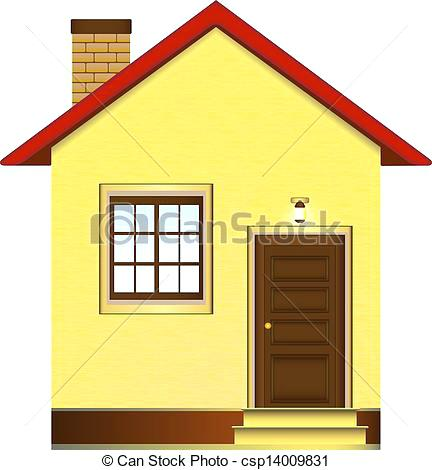 432x470 beautiful house drawing isolated beautiful house stock - House Drawing Easy