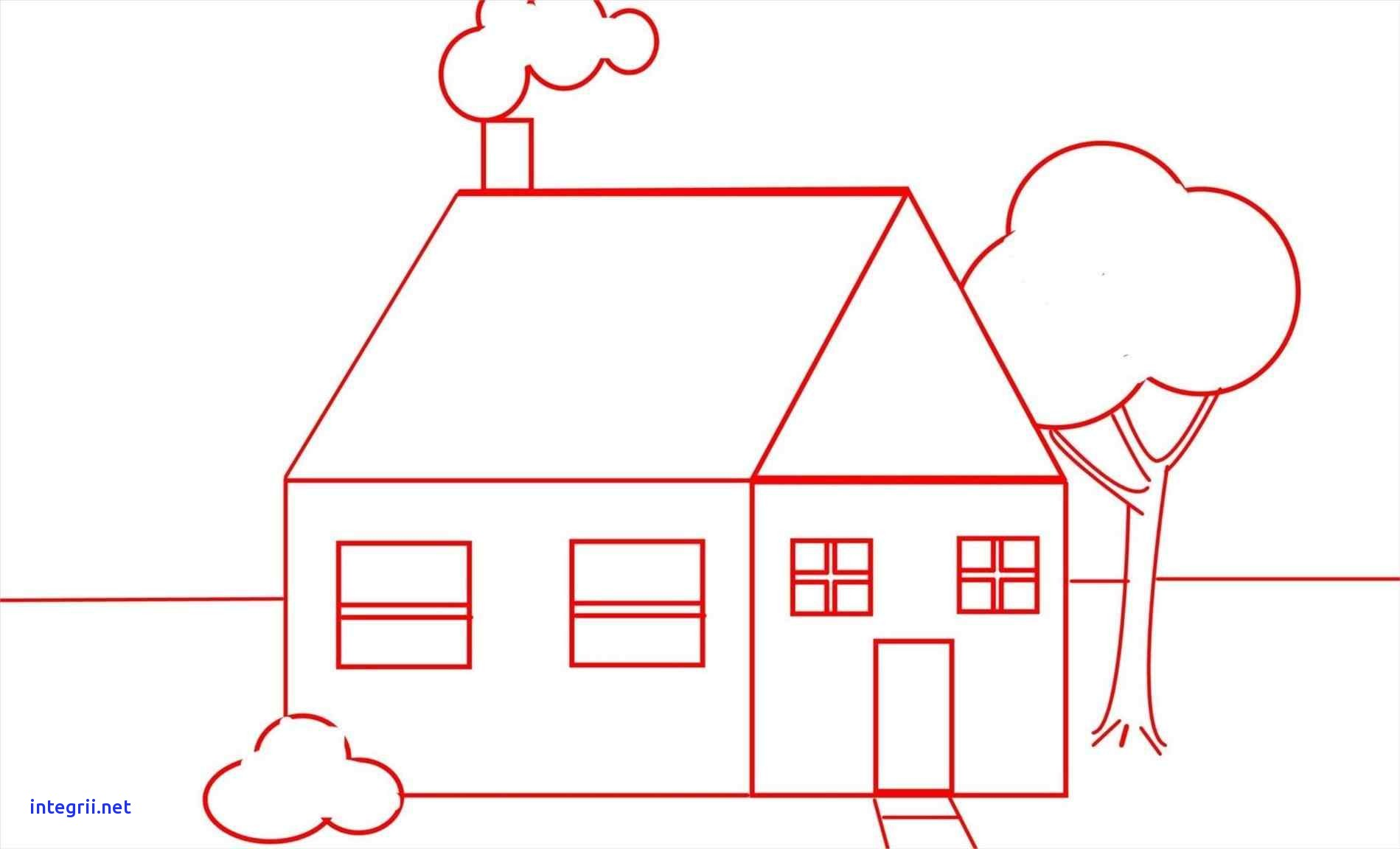 Easy House Drawing at GetDrawings.com | Free for personal use Easy ...