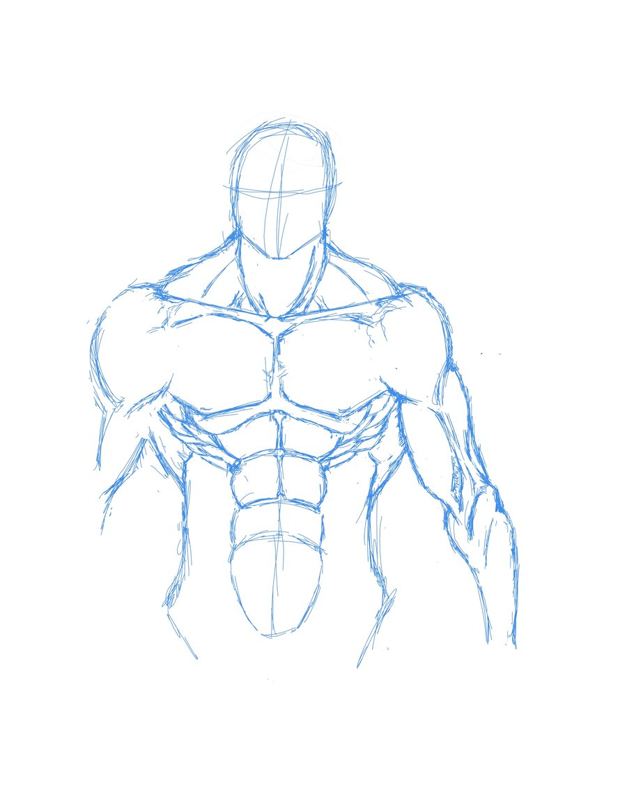 Easy Human Body Drawing at GetDrawings com | Free for