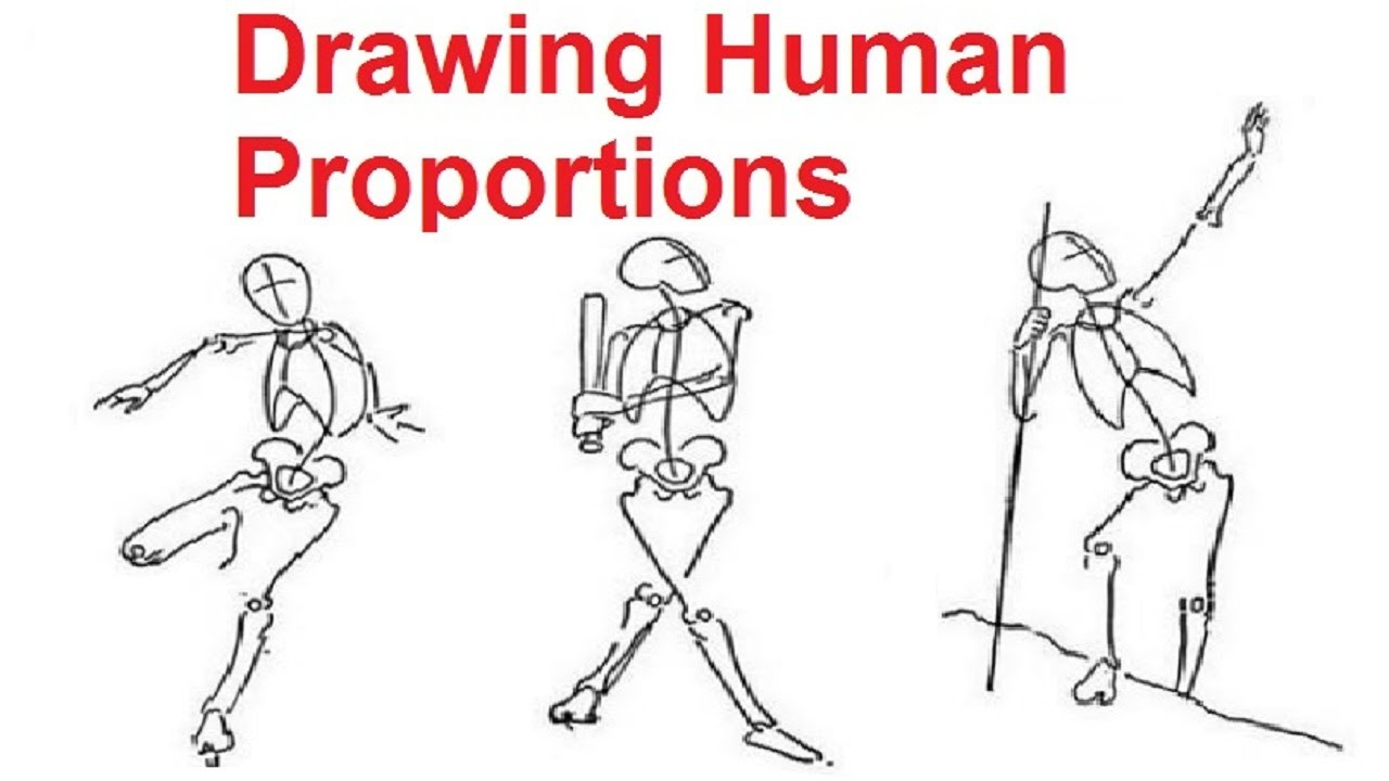 1280x720 Easy Human Figure Drawing For Kids Figure Drawing Lessons 28