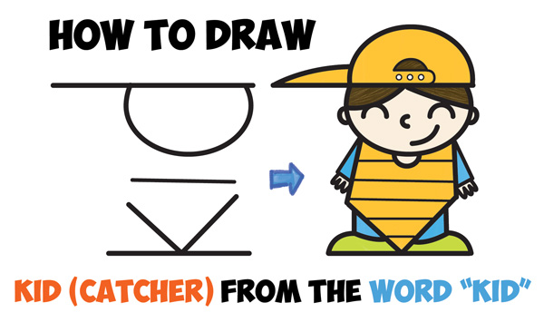 600x355 How To Draw A Cartoon Boy Archives