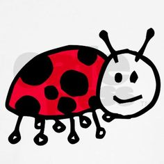 236x236 Easy To Draw Ladybug, Drawing For Three To Five Year Old Children