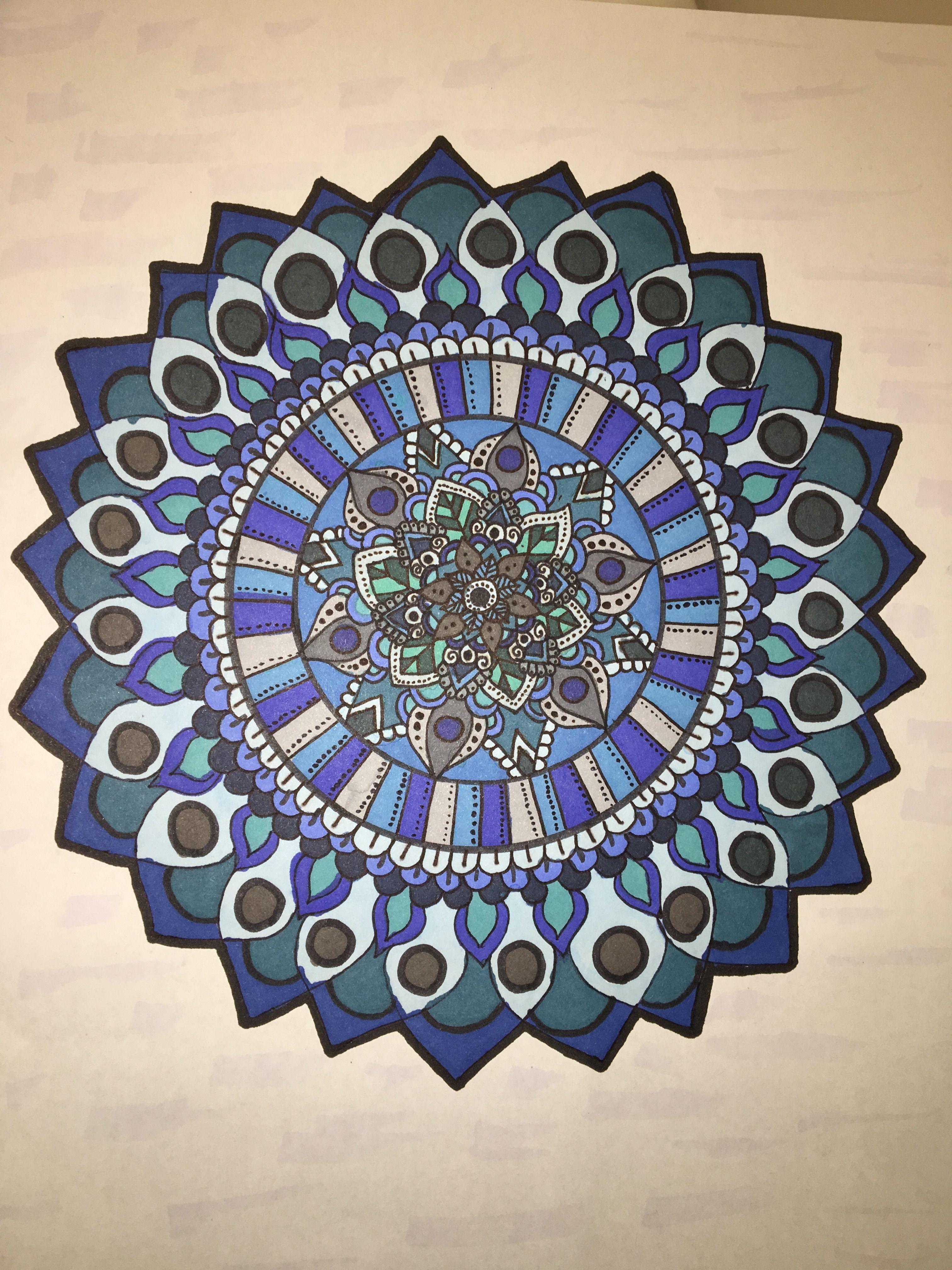 3024x4032 Easy Mandala Drawing Drawings Mandala Drawing