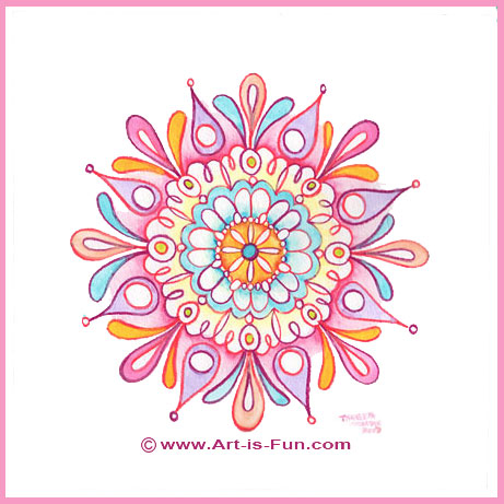 461x461 How To Draw A Mandala Learn How To Draw Mandalas For Spiritual
