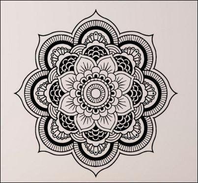 Easy Mandala Drawing at GetDrawings.com