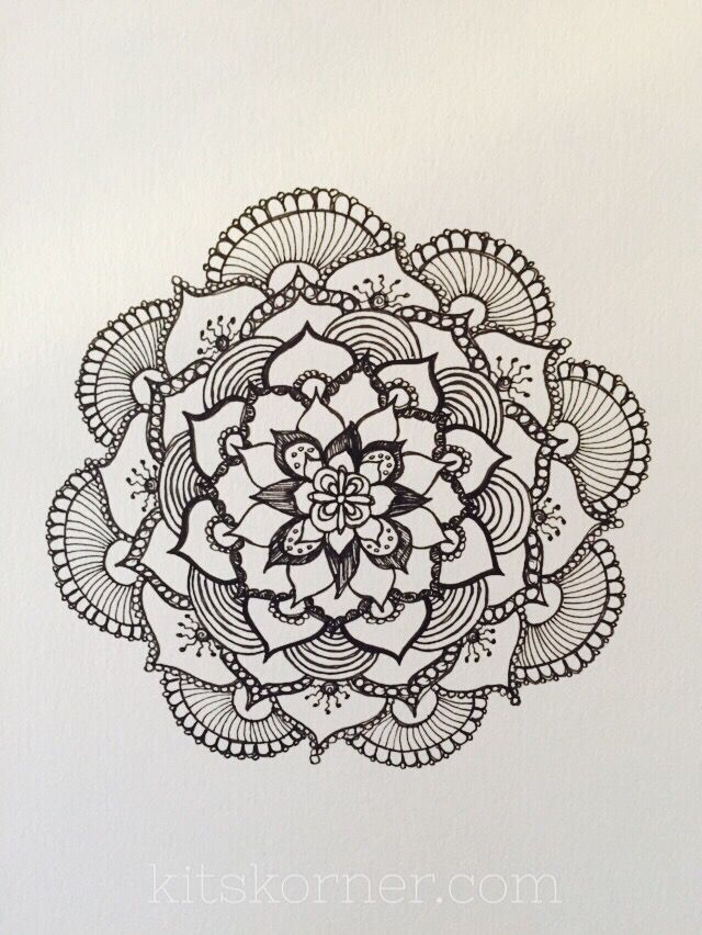 640x852 Mandalas Are Amazing And So Much Fun! I Decided To Gather Up