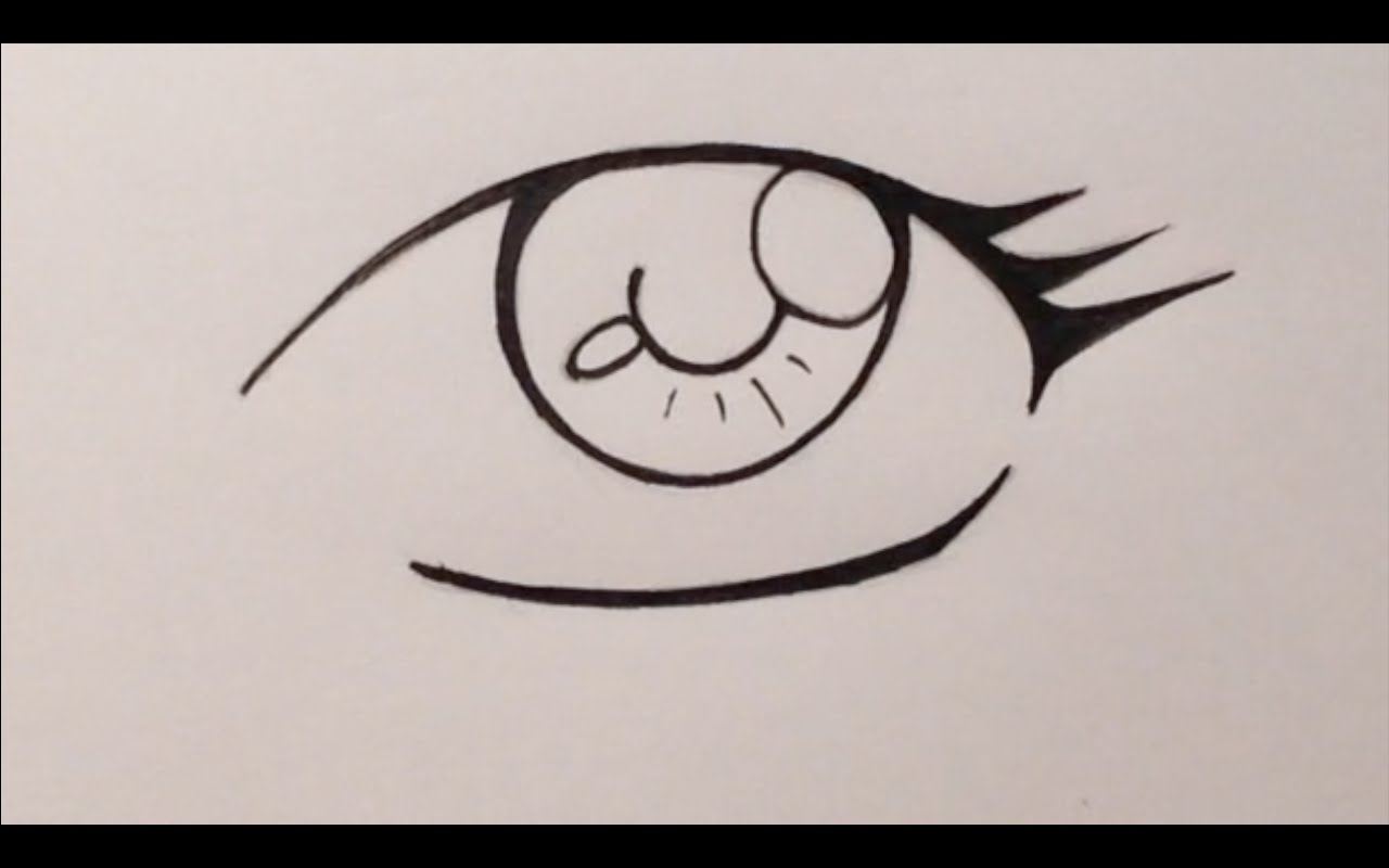 1280x800 How To Draw Manga Eyes