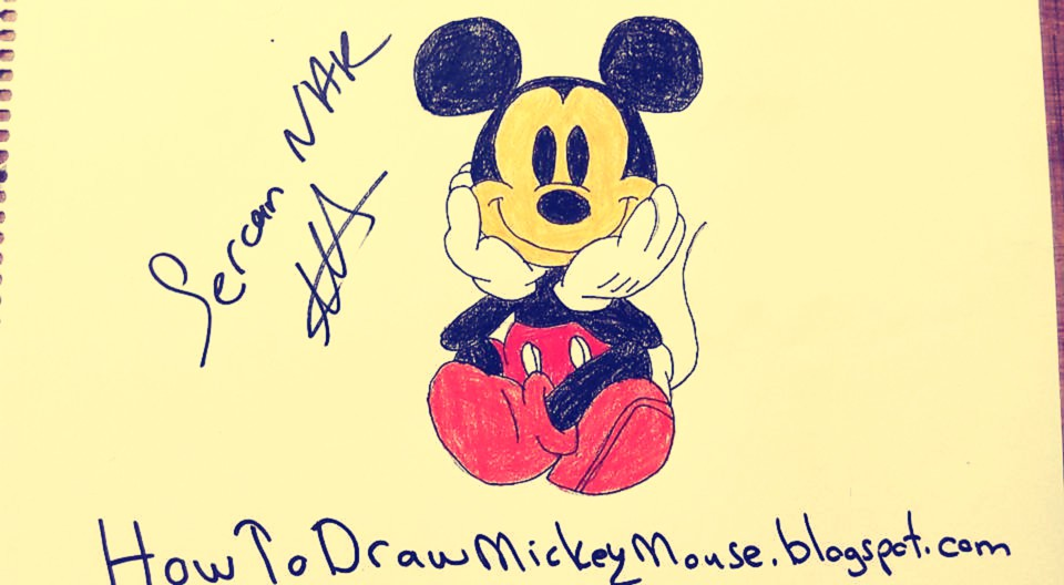 960x528 Easy Mickey Mouse Drawings And Sketches