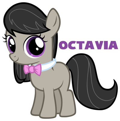400x405 How To Draw Octavia From My Little Pony In Easy Step By Step