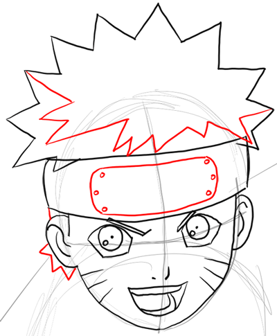 400x485 how to draw naruto uzumaki with easy step by step drawing