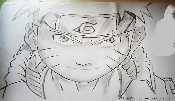 690x400 Naruto Drawing In Pencil Sketches With Shade