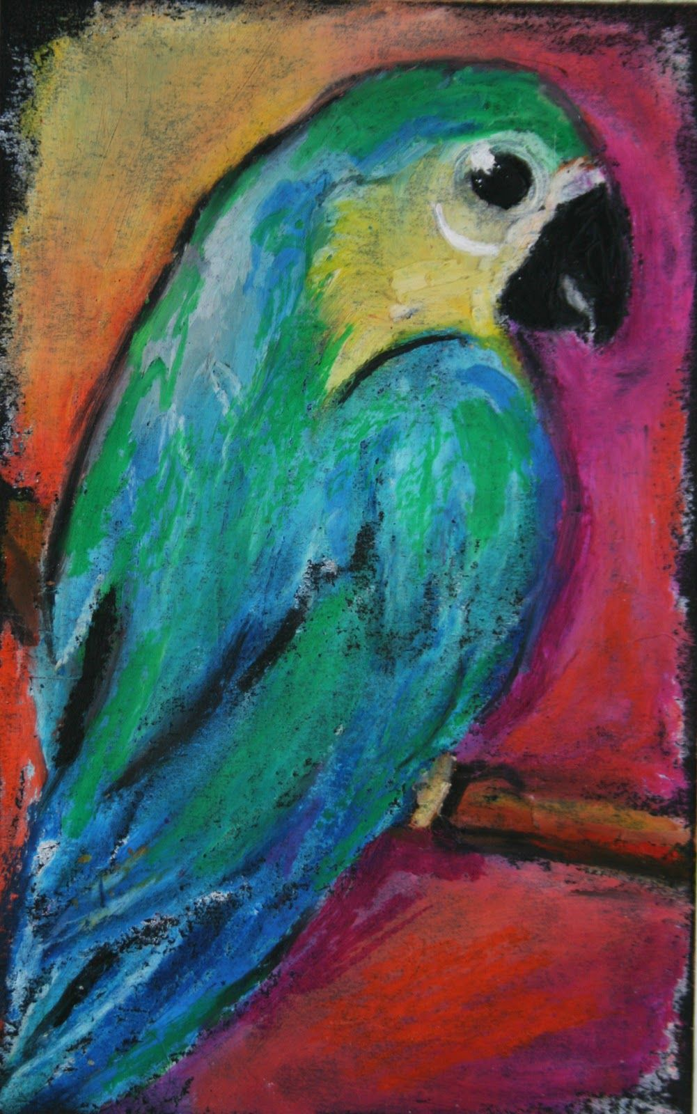 1001x1600 32 Awesome Easy Oil Pastels Drawings Images Oil Pastels