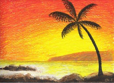 400x291 Simple Oil Pastel Art