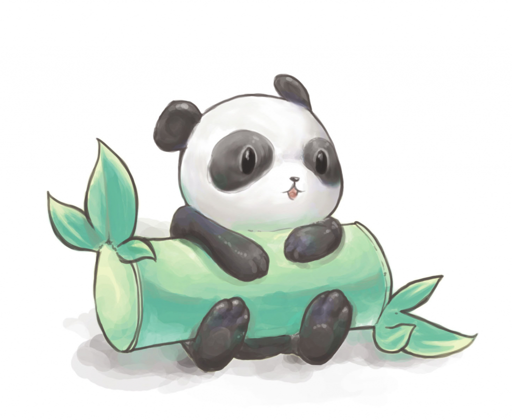 Easy panda drawing at free for personal for Simple but cute drawings