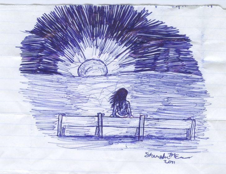 Pen Sketch Art Easy