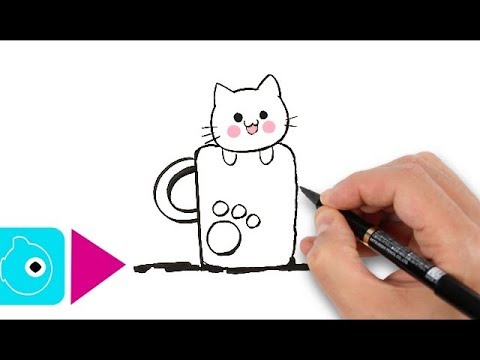 480x360 How To Draw A Kitten