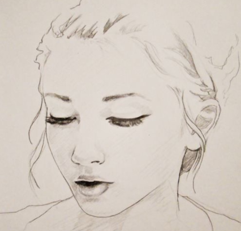 Easy Portrait Drawing at GetDrawings.com | Free for ...