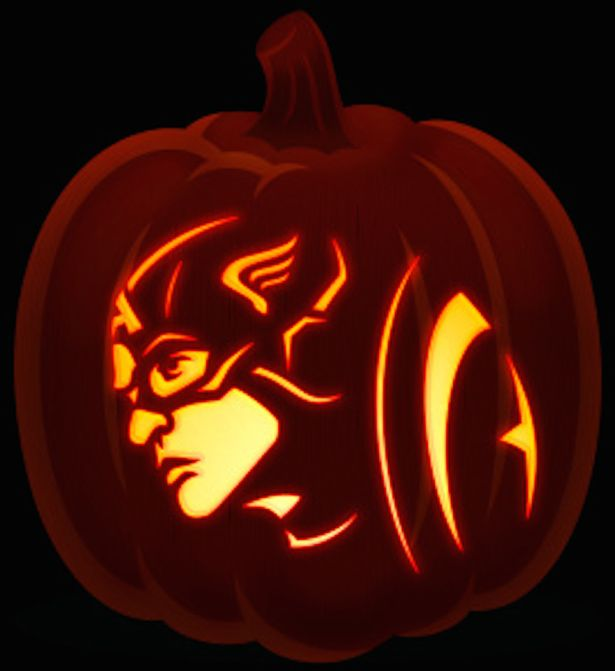 615x671 cool halloween pumpkin carving ideas - Carving Pumpkin Ideas