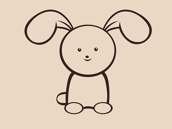 600x450 Draw A Simple Bunny