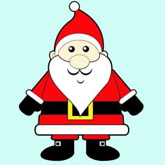 236x236 Easy Instructions For How To Draw Santa Clause For Kids Santa