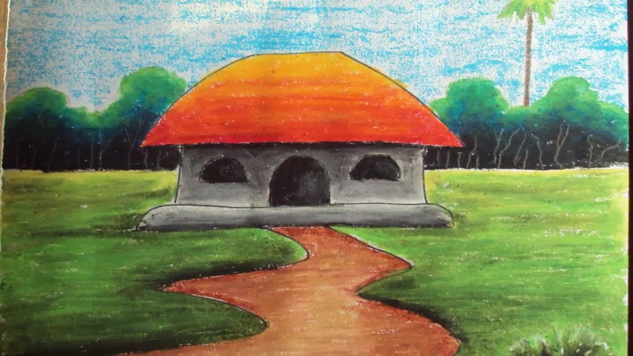 Easy Scenery Drawing For Kids At Getdrawings Com Free For Personal